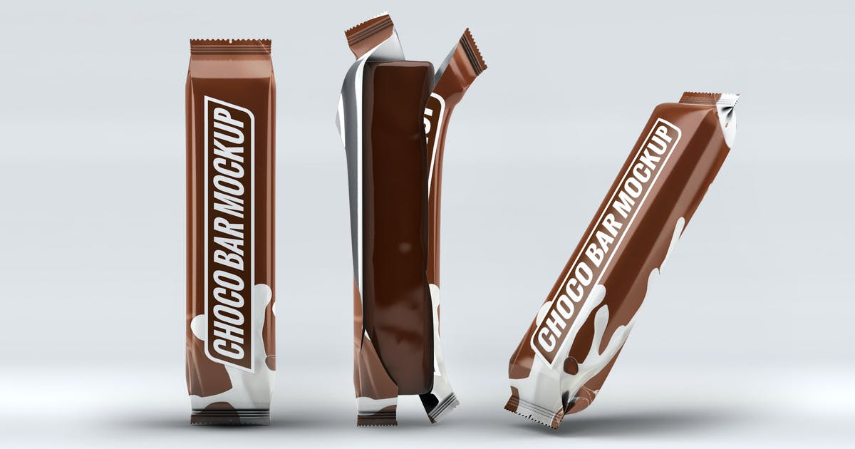 Download Chocolate Bar Mock-Up by L5Design