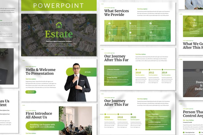 Estate - Property Powerpoint Template