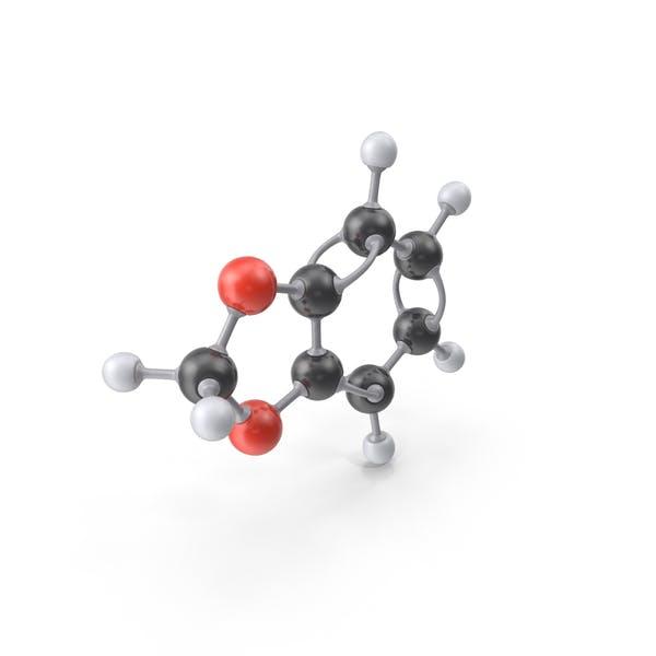 Thumbnail for Benzodioxole Molecule