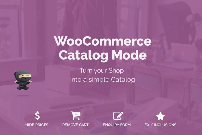 Thumbnail for WooCommerce Catalog Mode