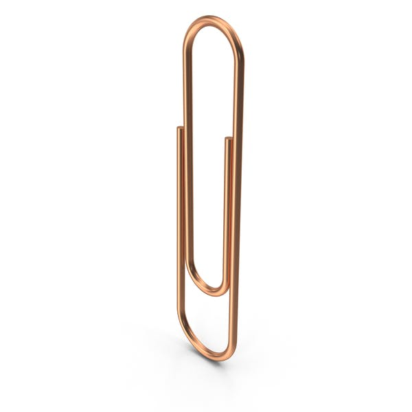 Copper Paper Clip