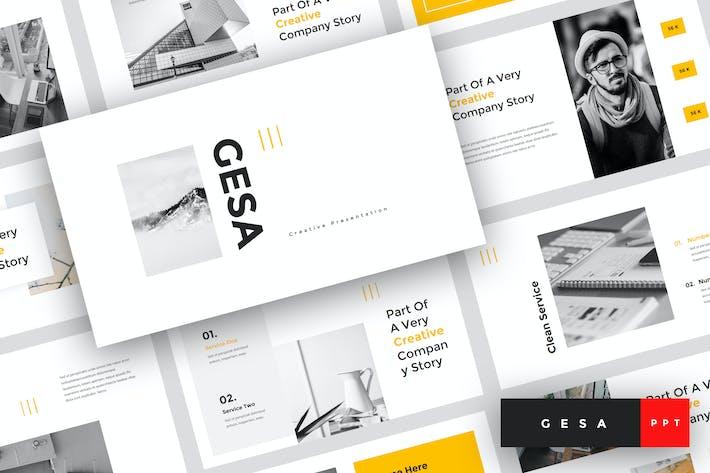 Thumbnail for Gesa - Creative PowerPoint Template