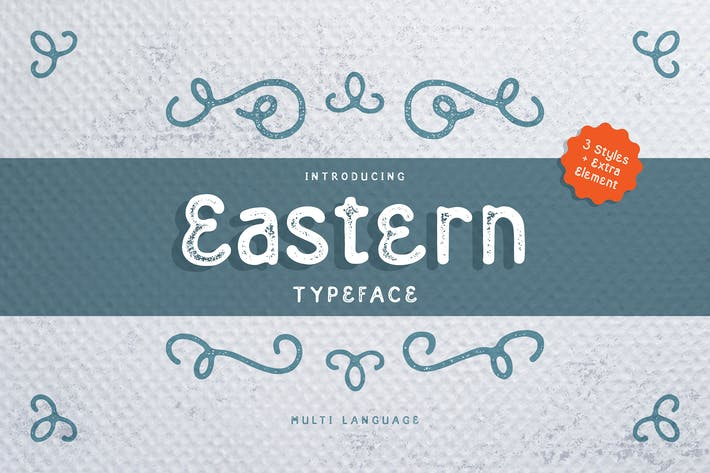 Thumbnail for Eastern Typeface