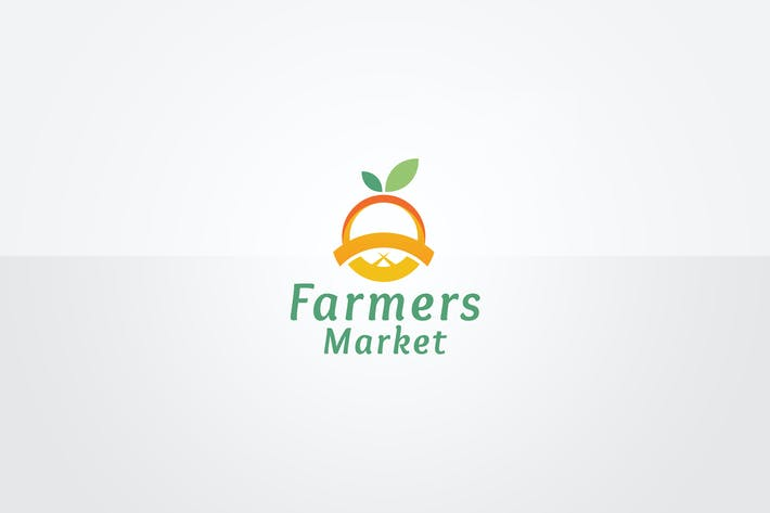 Thumbnail for Farmers Market Logo Template