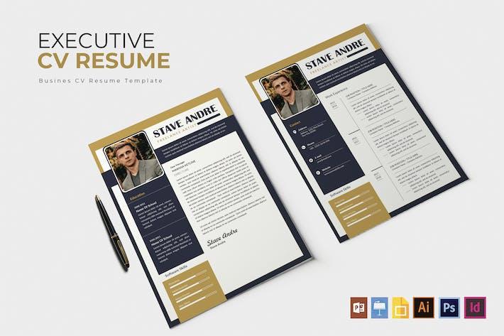 Thumbnail for Eksekutive | CV & Resume Template