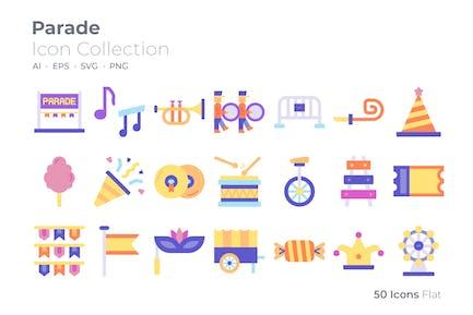 Parade Color Icon