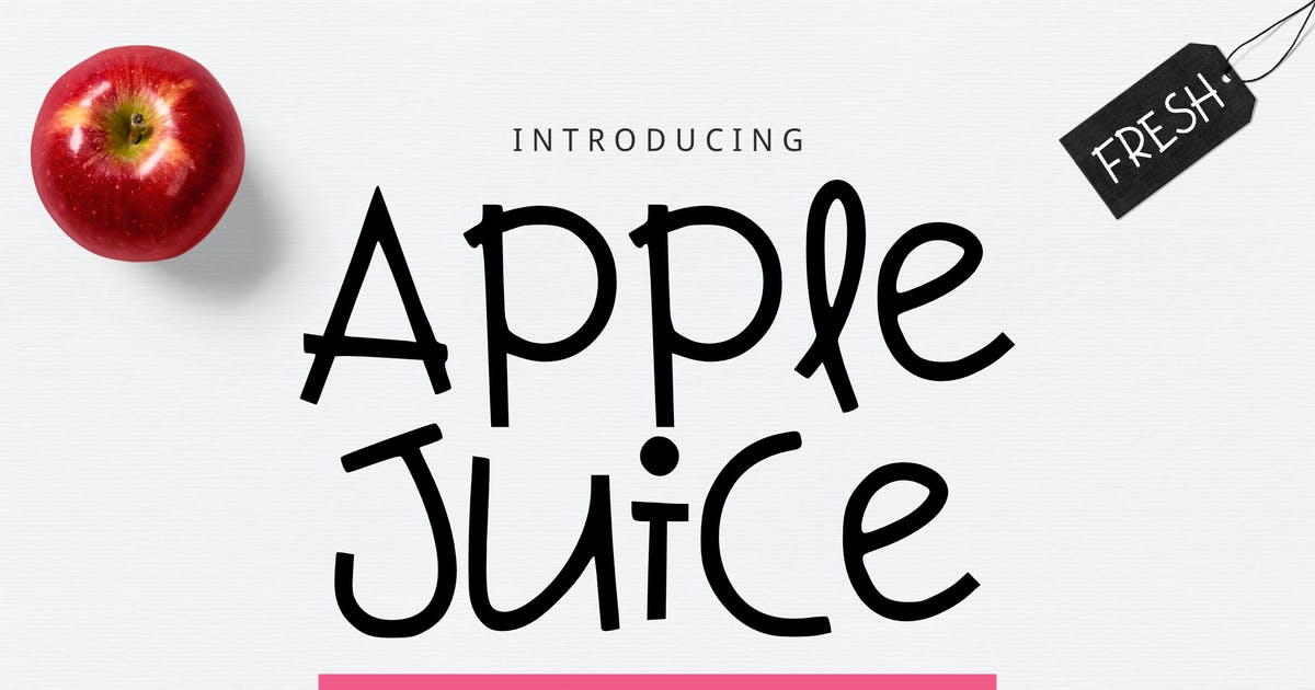 Download Apple Juice Font by yandidesigns