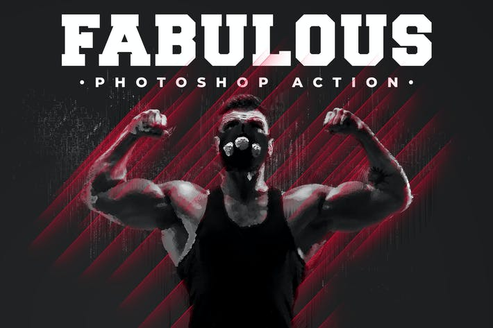 Thumbnail for Fabulous - Photoshop Action