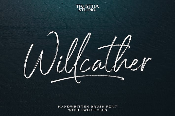 Thumbnail for Willcather Font