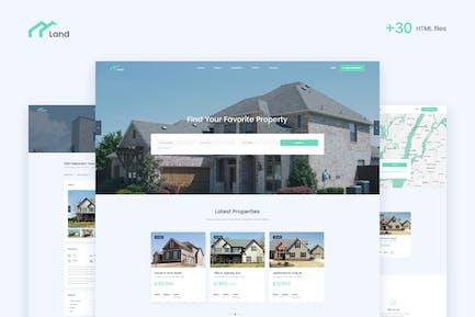 Lalan - Real Estate & Property Listing HTML Templa