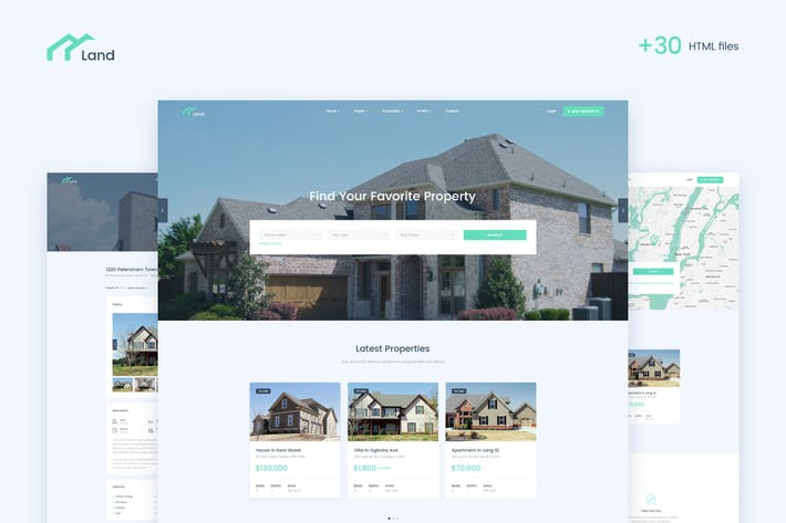 Thumbnail for Lalan - Real Estate & Property Listing HTML Templa