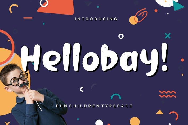 Thumbnail for Hellobay Fun Children Typeface