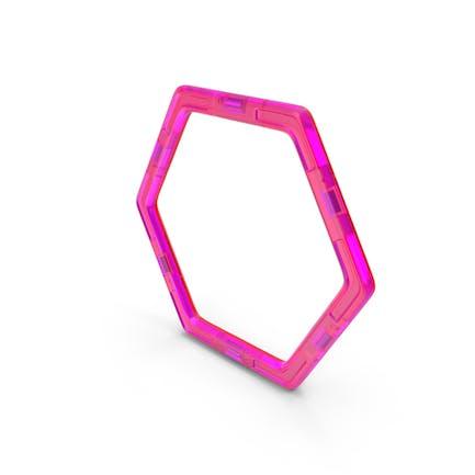 Magnetisches Design-Sechseck