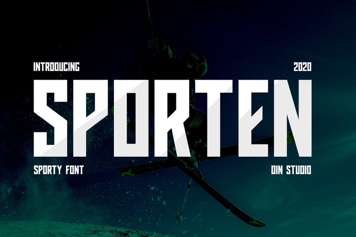 Thumbnail for Sporten-Classic Sport Font