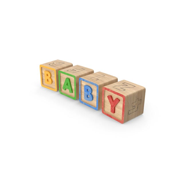 Алфавитные блоки младенца