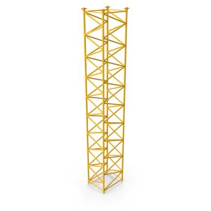 Crane F Intermediate Section 12m Yellow