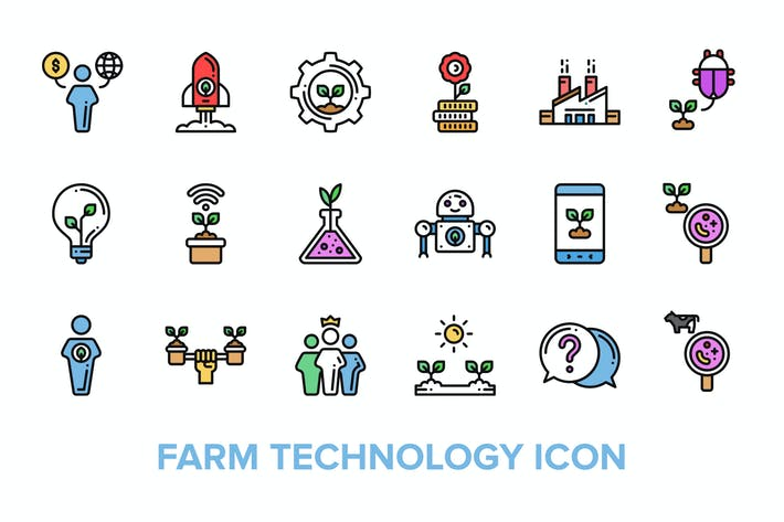 Thumbnail for Farm Technology Icon
