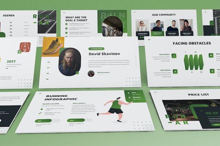Runar - Sport Keynote Template
