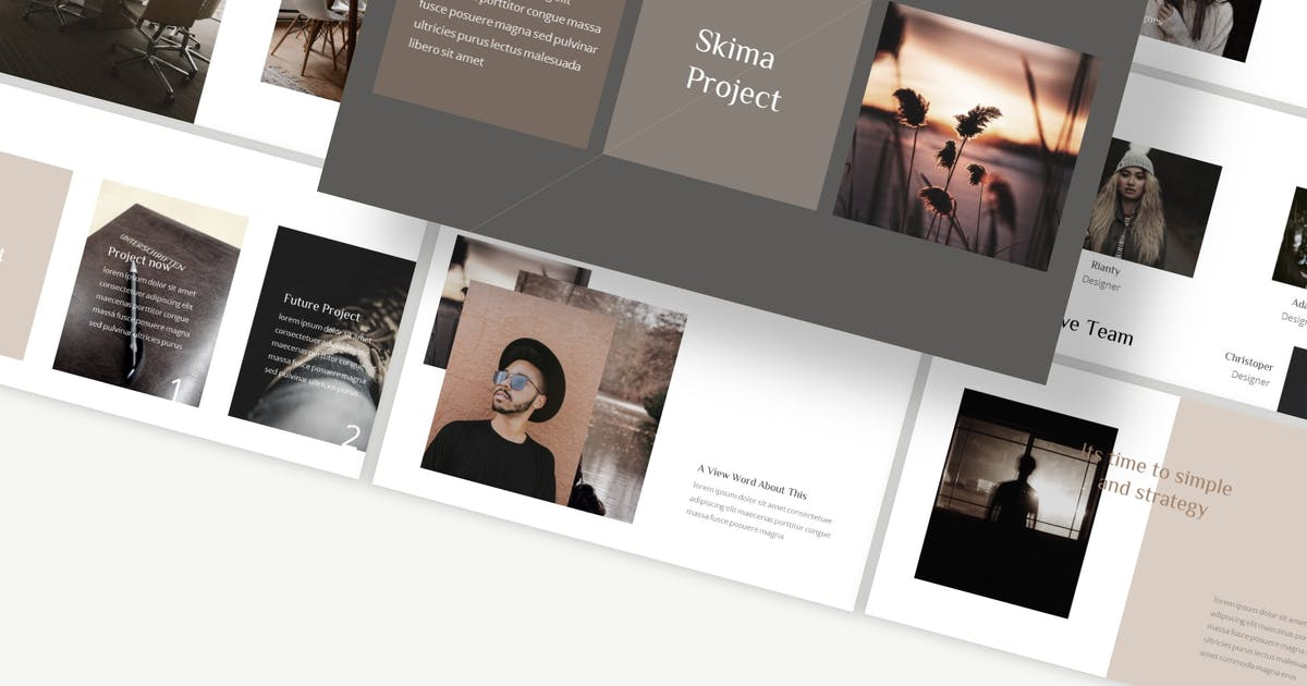 Download Skima - Keynote Template by Ksenusya