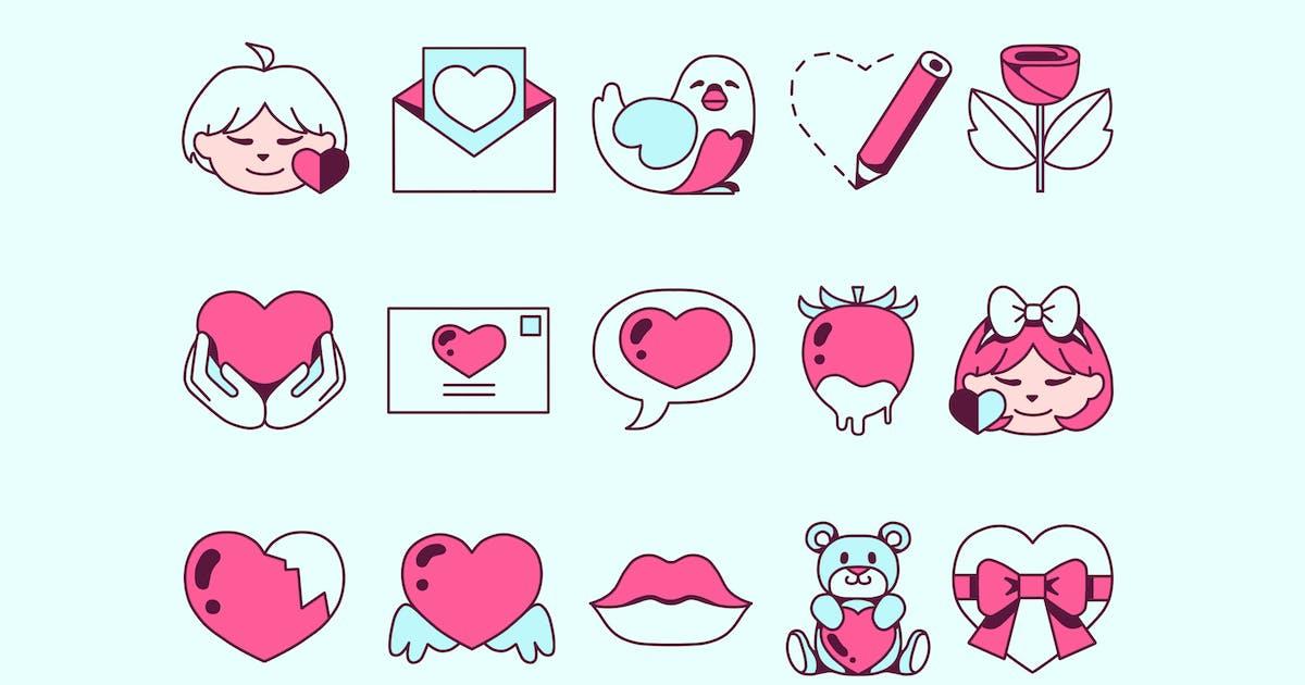 Download Valentine Icons by Jumsoft