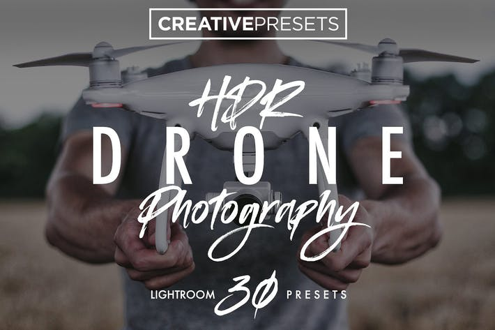 Thumbnail for +30 HDR - Drone Lightroom Presets