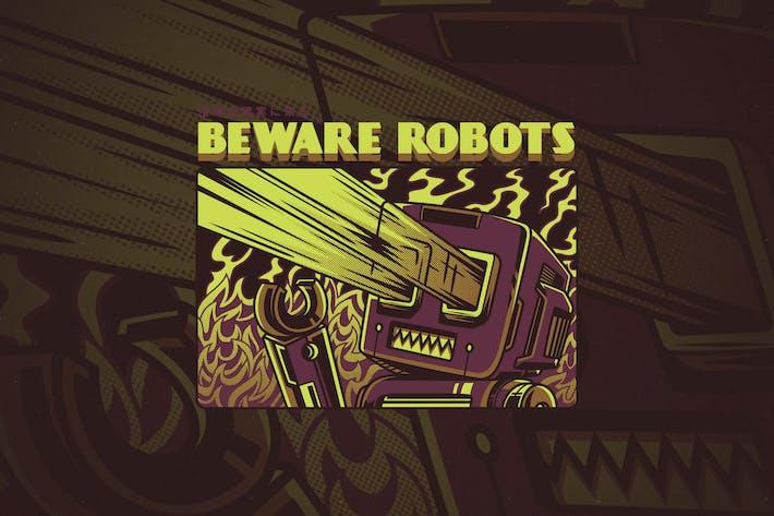 Thumbnail for Beware Robots