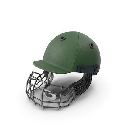 Cricket Helmet Green