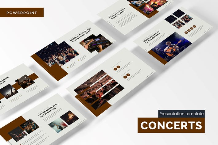 Thumbnail for Concerts - Powerpoint Template