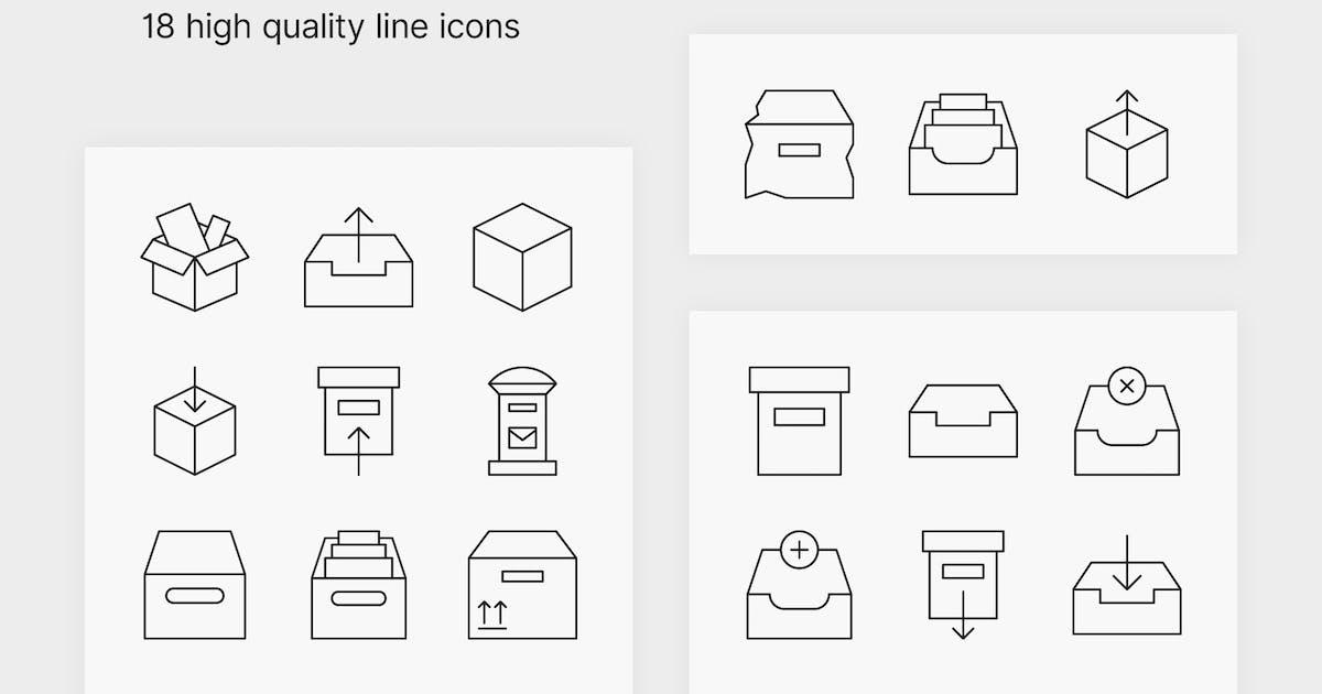 Download Box Icons by polshindanil