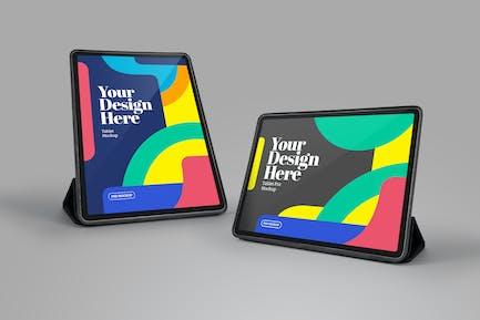 Tablet Pro Perspective Case Portrait Landscape