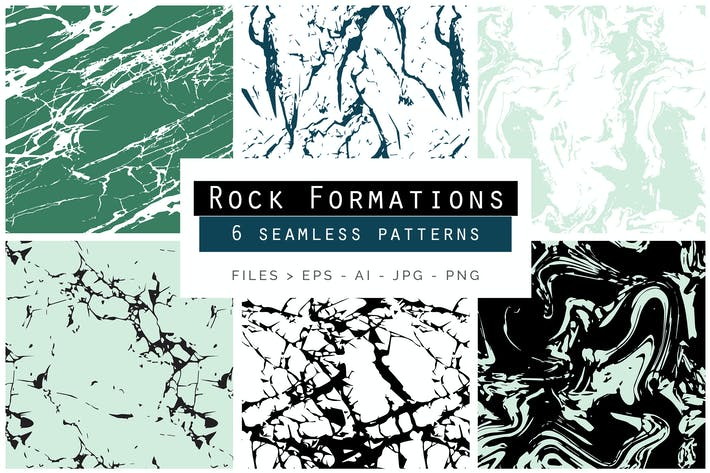Thumbnail for Rock Formations Seamless Patterns