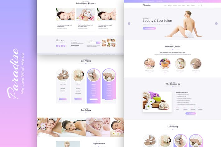 Thumbnail for Paradise - Multipurpose HTML Template