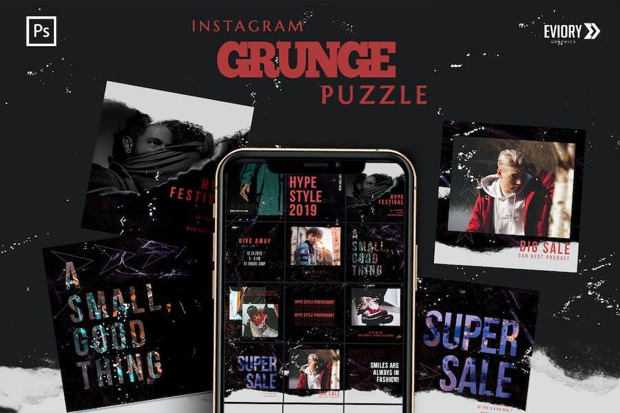 Grunge - Instagram PUZZLE