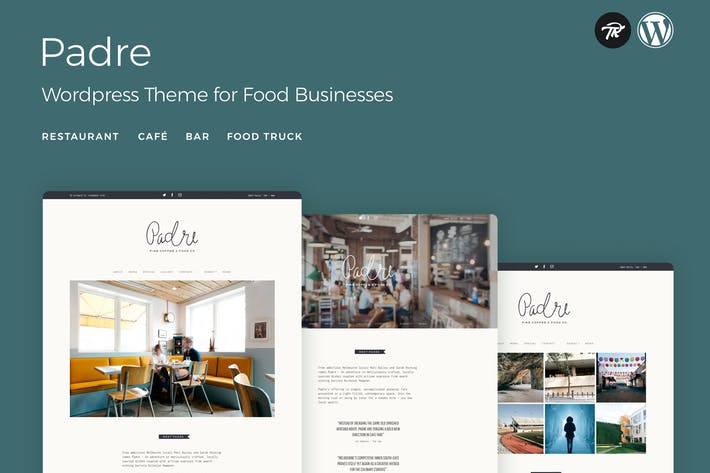 Thumbnail for Padre - Cafe & Restaurant WordPress Theme