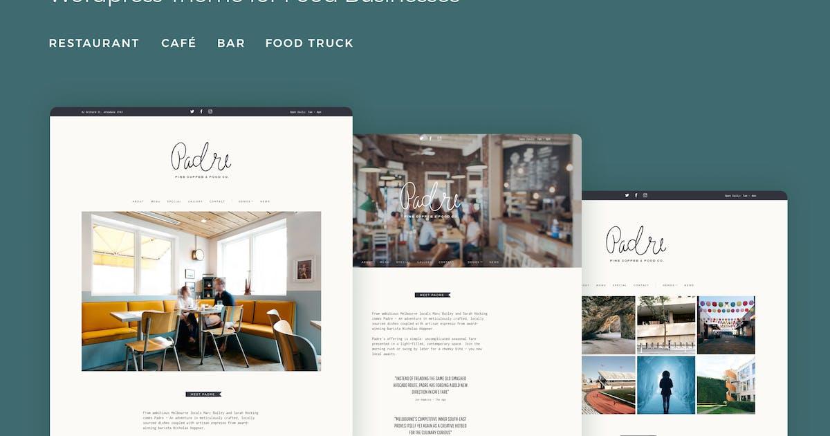 Download Padre - Cafe & Restaurant WordPress Theme by tommusrhodus