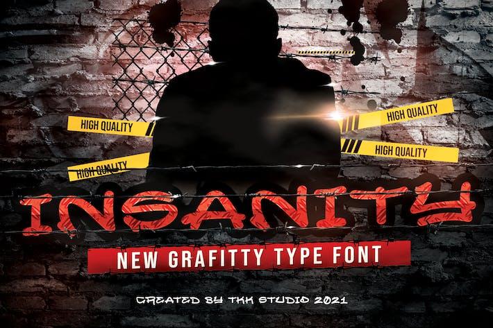 INSANITY - Graffiti font