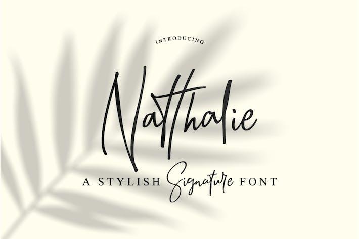 Thumbnail for Signature de Natthalie