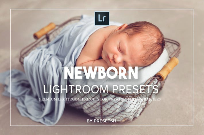 Thumbnail for Newborn Baby Lightroom Presets