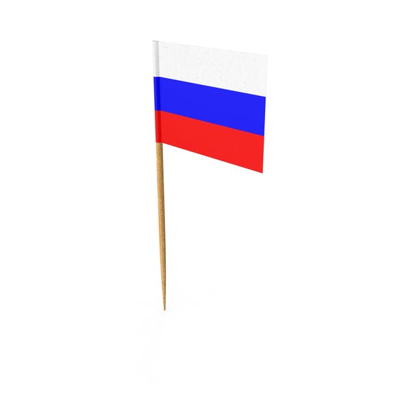 Cover Image for Toothpick Russian Flag