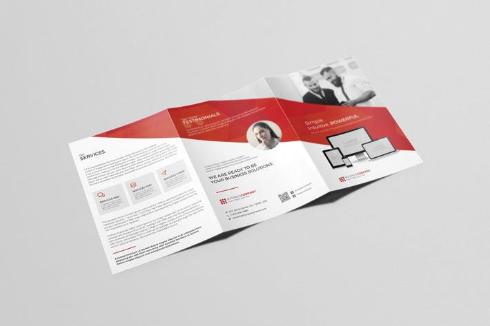 Cover Image For A5 Tri-fold Brochure