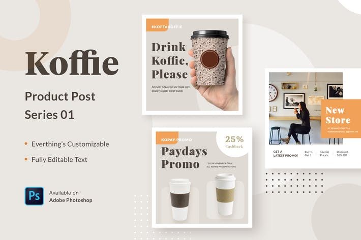 Thumbnail for Koffie Product - Series 01