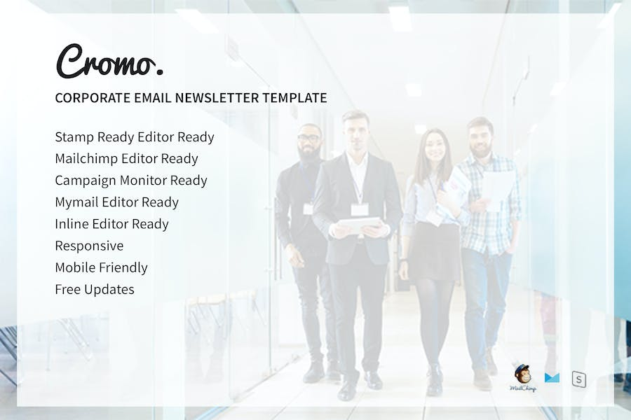 Cromo Corporate Email Newsletter Template