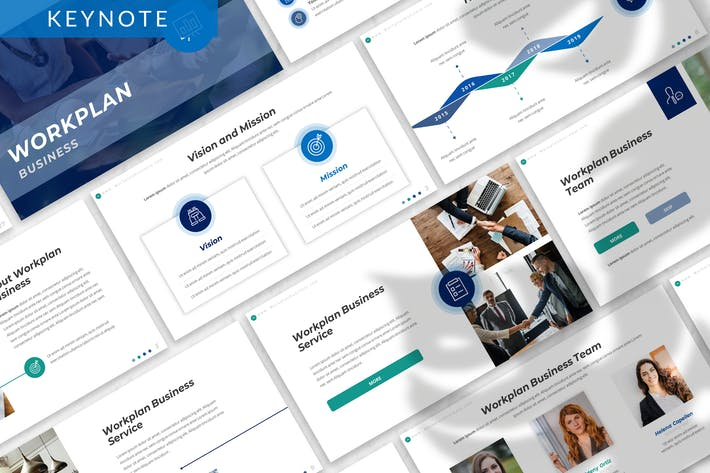 Thumbnail for Workplan - Business Keynote Template