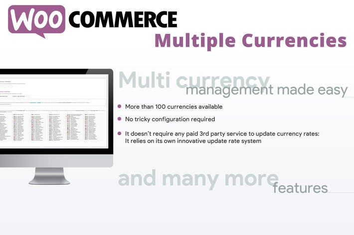 Cover Image For WooCommerce Multiple Currencies