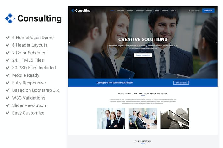 Download Taxes Website Templates Envato Elements - Tax website templates