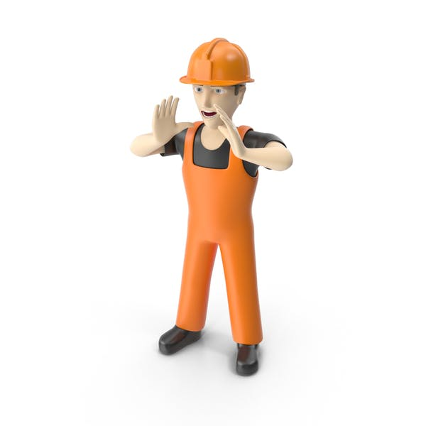 Thumbnail for Construction Worker Shouting