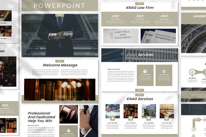 Thumbnail for Knag - Firm Powerpoint Template