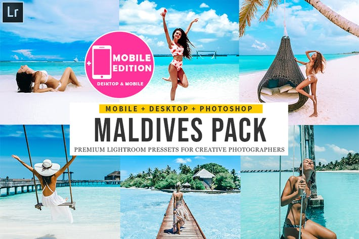 Thumbnail for Maldives Lightroom Presets