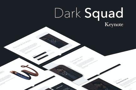 Dark Squad Keynote Template