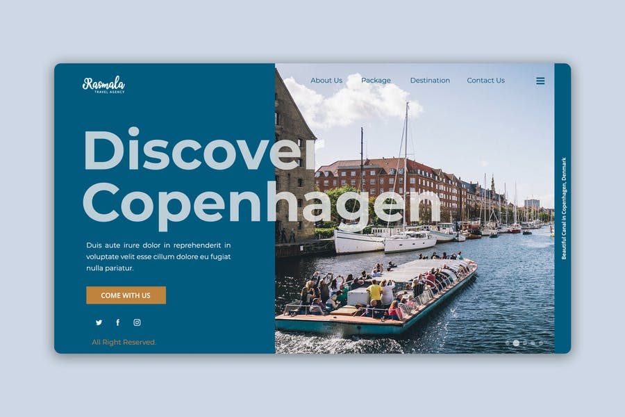 Tour and Travel Business Web Header